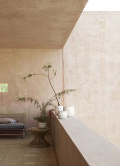 Slow design from Denmark in Mallorca , Slow Design, Interior Architecture, Interior And Exterior, Decor Interior Design, Interior Decorating, Tadelakt, Nordic Home, Bamboo Furniture, Furniture Nyc