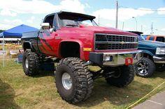 Chevy 4X4 Pickup Truck by geepstir, via Flickr