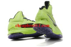 Nike KD V Volt LawnGreen Court Purple Glow in the dark Cute Nike Shoes 2f624122c646