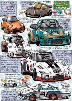 The Porsche Cayman - Super Car Center Auto Volkswagen, Vw T1, Automobile, Car Illustration, Car Posters, Porsche Cars, Car Sketch, Car Drawings, Automotive Art