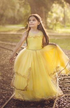 """Yes..I'm Golden"" Girl's Princess Dress"