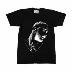 Post Malone White Iverson Stoney Black Tee (Unisex) 5a2a96bfcacc