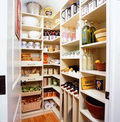 walk in pantry organization - Google Search