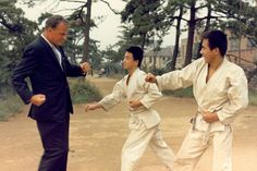 Tokyo, 1967: Billy Graham tries to learn martial arts from some of the locals.