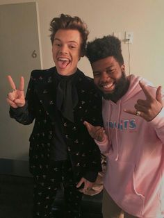 Harry with khalid
