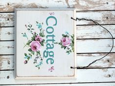 """Cottage - I have signs all about my home with the word """"Cottage"""". Even outside on my mailbox!"""