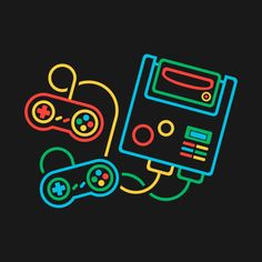 Check out this awesome & design. - Video Game Artwork - Check out this awesome & design on - Retro Video Games, Video Game Art, Gaming Wallpapers, Cute Wallpapers, Tattoo Geek, Overlays, Retro Arcade Games, Mundo Dos Games, Systems Art