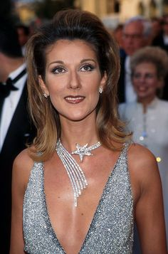 Few could pull off emerald rings the size of golf balls, sculptural diamond bracelets, or Titanic's legendary Heart of the Ocean necklace, but Céline Dion makes it look natural.