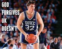 """Laettner's last second shot was clouded somewhat by an incident earlier in the game, in which Laettner intentionally stepped on the chest of Kentucky Wildcat forward Aminu Timberlake, who was lying on the floor. Laettner later said, """"It was just from the emotion of the game."""