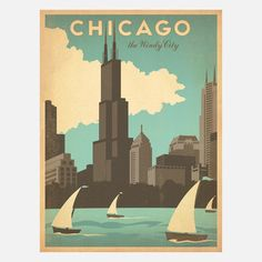 Anderson Design Group: Windy City 18x24