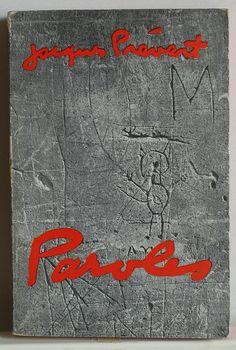 Jacques Prévert, Paroles, Paris: Le livre de poche, 1957. Cover: Jacques Prévert and Brassaï.