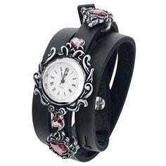"""Alchemy Gothic Armbanduhr """"Heartfelt"""" • jetzt erhältlich • EMP"""