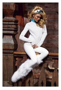 Candice Swanepoel by Sebastian Faena & Carlyne Cerf de Dudzeele for V Magazine #74, Winter 2011