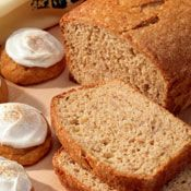 Pumpkin Bread Recipe at Cooking.com...I would make these gluten-free.  #pumpkin #bread