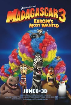 Madagascar Europe's Most Wanted. unlike some other movies, when they make sequels, but they're never as good as the first one, the Madagascar movies never lost their cool! they are all so hilarious! Free Kids Movies, Kid Movies, Family Movies, Cartoon Movies, Disney Movies, Movie Tv, Cartoon Characters, Dreamworks Animation, Disney Films