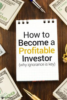 Believe it or not, it's better to be a dumb investor than to be a smart one. You can't assume everything you read is true - you need to test investment strategies and theories. Financial Tips, Financial Literacy, Financial Planning, Investing Money, Real Estate Investing, Stock Investing, Wealth Management, Money Management, Forex Trading Tips