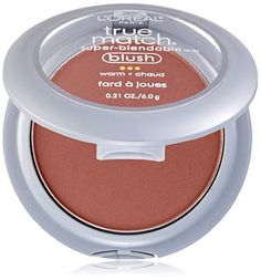 LOreal Paris True Match SuperBlendable Blush Soft Sun 021 oz >>> Additional details at the pin image, click it  : Best Blusher