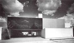 Casa en Tecamachalco, Fuente de Mercurio 40, Lomas de Tecamachalco, Naucalpan de Juárez, Estado de México, México 1968 Arq. David Muñoz Suarez