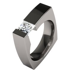 mens-wedding-rings-unique Men's Diamond Rings for More Luxury & Elegance