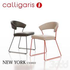 Calligaris New York Metal Chair CS1022