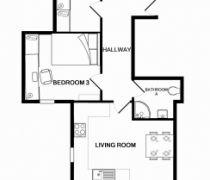 3 Bedroom Peel Street, Nottingham Student Accomodation |Flat R Park View| Student Cribs