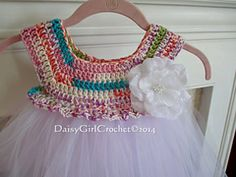 Ravelry: Empire Waist Crochet Tutu Dress pattern by Patricia Klonoski