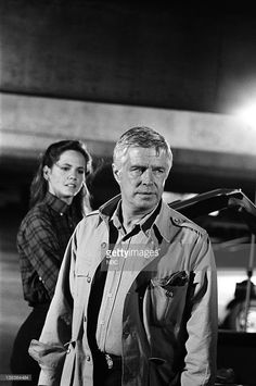 TEAM -- 'Mexican Slayride' Episode 1 -- Pictured: (l-r) Melinda Culea as Amy Amanda Allen, George Peppard as John 'Hannibal' Smith