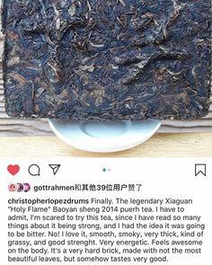 "#xiaguantea#tea#cha#moylor#tealover"" Pu Erh Tea, Oolong Tea, Chinese Tea, My Tea, Instagram"