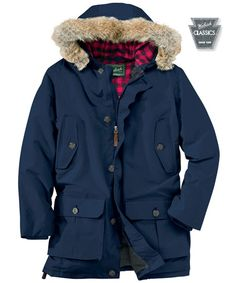 d9e302509f Men s Arctic Down Parka in Deep Navy by WOOLRICH® The Original Outdoor Clothing  Company Clothing