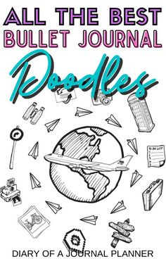 The ultimate list of doodles every bullet journal beginner needs to know to make their bullet journal spreads look incredible! #bulletjournaldoodles #doodling #howtodraw Easy Doodles Drawings, Easy Doodle Art, Cool Doodles, Simple Doodles, Doodle Ideas, Bullet Journal Binder, Bullet Journal Printables, Bullet Journal Spread, Bullet Journals