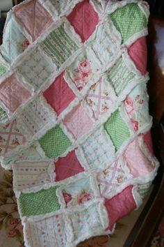 Custom Crib Rag Quilt