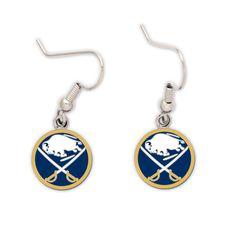 Buffalo Sabres Dangle Earrings NHL