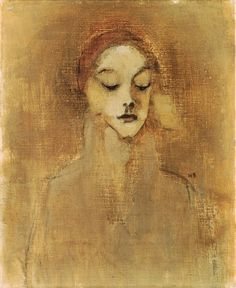 Schjerfbeck, Helene (1862-1946) - 1920s The Gatekeepers Daughter (Christies London, 2001) by RasMarley, via Flickr