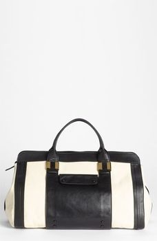 Chloe 'Alice - Large' Leather Tote Husky White One Size in September 2012 Hit Refresh from Nordstrom
