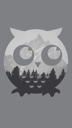 Owl design by Hana Saller