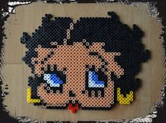 Betty Boop hama beads by ILUSIONES SCRAP