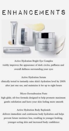 Game changing Active Hydration Serum, Active Hydration Bright Eye Complex and Active Hydration Body Replenish. Rodan And Fields Canada, My Rodan And Fields, Rodan And Fields Business, Rodan And Fields Products, Rodan Fields Skin Care, Unblemish Rodan And Fields, Field Marketing, Rodan And Fields Consultant, Independent Consultant