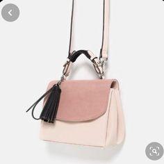 Fashion Handbags, Purses And Handbags, Fashion Bags, Fashion Outfits, Sacs Design, Summer Handbags, Summer Bags, Zara Bags, City Bag