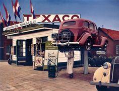"""Texaco Station, Rotterdam"""
