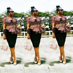 Howdy ladies, these are latest ankara dress styles you haven't rock. This is an opportunity for you to rock the kind of ankara styles African Fashion Designers, Latest African Fashion Dresses, African Dresses For Women, African Print Dresses, African Print Fashion, Africa Fashion, African Attire, African Wear, Women's Fashion Dresses