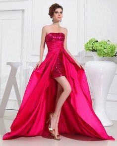 cool Потрясающие платья со шлейфом (50 фото) — Короткие и длинные модели 2017 Читай больше http://avrorra.com/platya-so-shlejfom-foto/