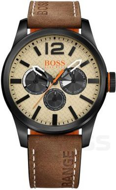 b7440ebfa48e2 Zegarek męski Hugo Boss Orange Paris #hugoboss #brown #partytime #dlaniego  Liverpool,
