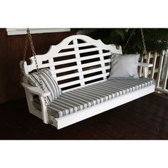 Marlboro 5' Porch Swing. The A&L Marlboro Yellow Pine 5ft Porch Swing is made with High-quality, knot-free yellow pine for lasting durability. Buy Online Today