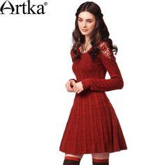 Artka Woolen Dress