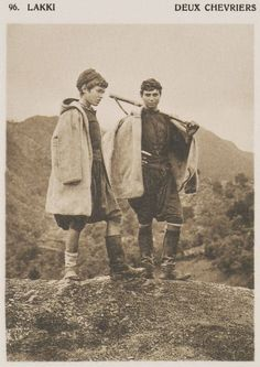 Young shepherds from by Daniel Baud-Bovy & Frédéric Boissonnas. Monuments, Crete Island, Greek History, Frederic, Winter's Tale, Simple Photo, Great Photographers, Europe, Athens Greece