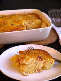 casserole and egg healthy bacon egg potato breakfast casserole bacon ...