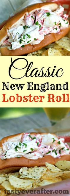 My family asks me to make this Classic New England Lobster Roll recipe all the time during the summer. We love it!