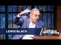 Lewis Black on Donald Trump and Election News Coverage - YouTube