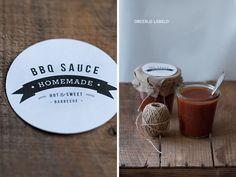 Imprimible para salsa barbacoa casera // Free printable BBQ sauce labels // Dreierlei Liebelei: Homemade BBQ Sauce + Etiketten Freebie {inkl. Thermomix-Variante}