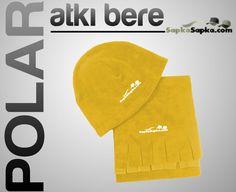 Sarı Promosyon Atkı Bere http://www.sapkasapka.com/promosyon-polar-atki-bere-sari/